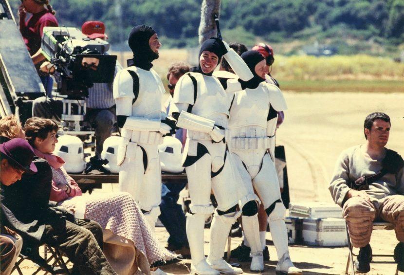 The vfxshow's Matt Wallin as a Stormtrooper in a galaxy far far away.