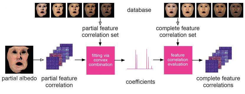 Feature correlation