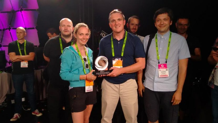 Edwards and the team at Siggraph