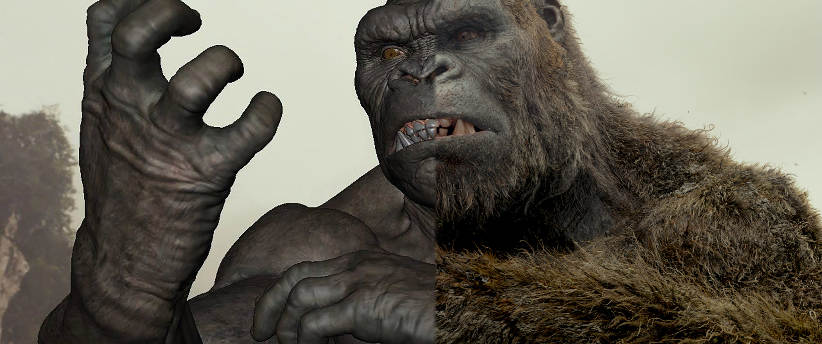Ilm creatures on kong s skull island fxguide - King kong design ...