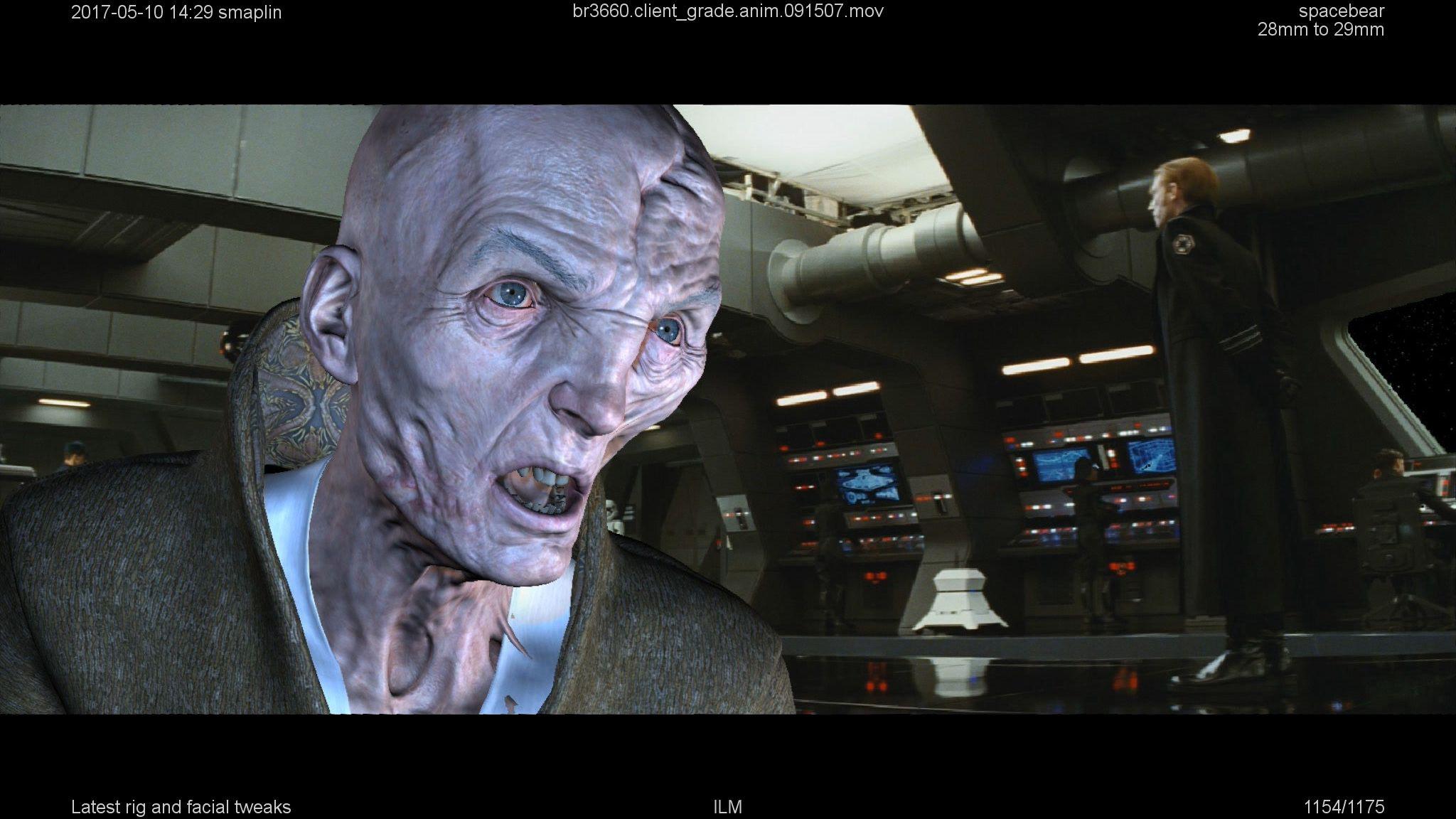Snoke Deep Dive Into The Latest Ilm Face Tech Fxguide