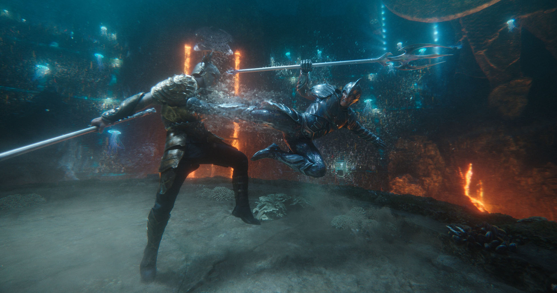 Wrong things done right  Lighting Aquaman with Industrial