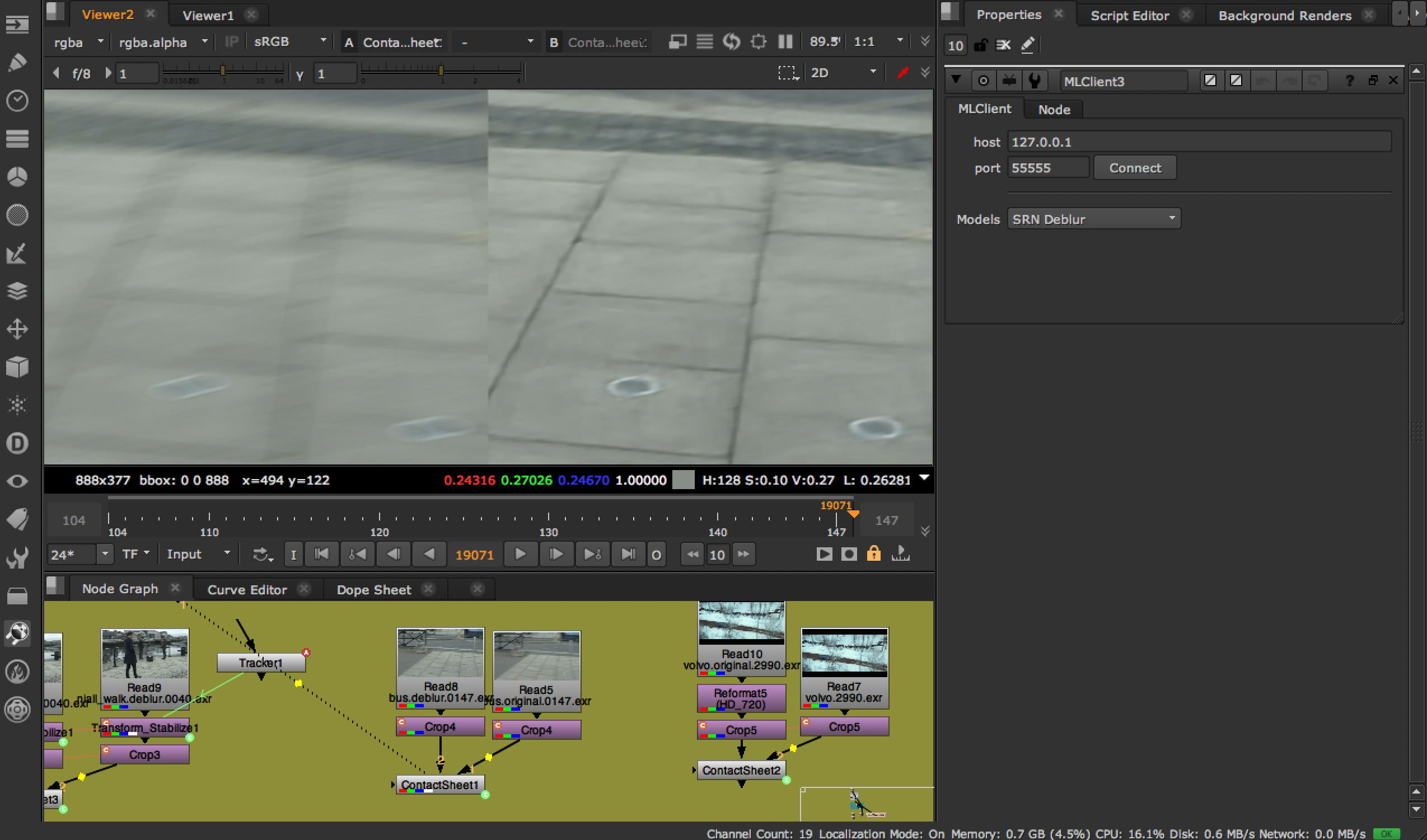 New Machine Learning Server for Deep Learning in Nuke – fxguide