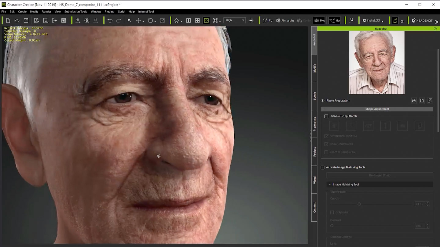 iClone Headshot at Real-time Live SIGGRAPH Asia – fxguide